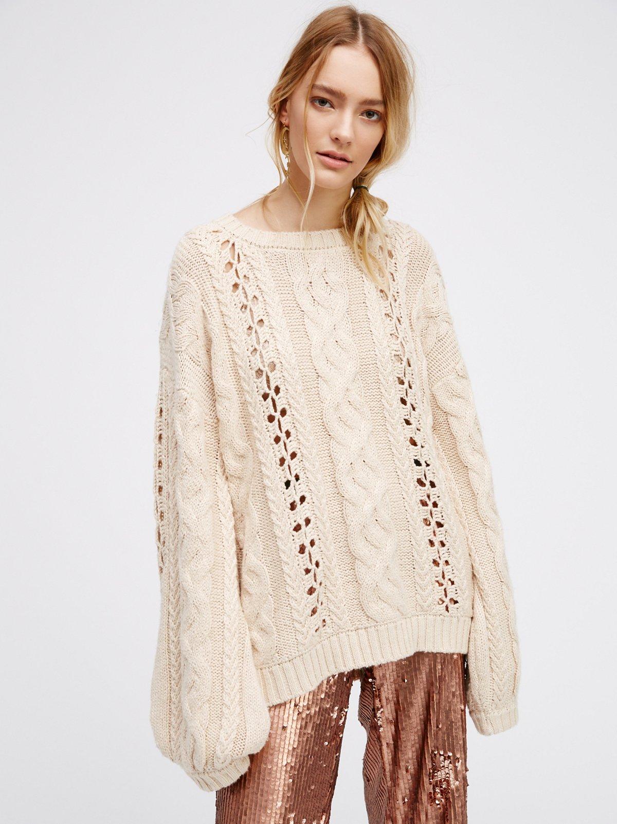 Wythe Bell Sleeve Sweater