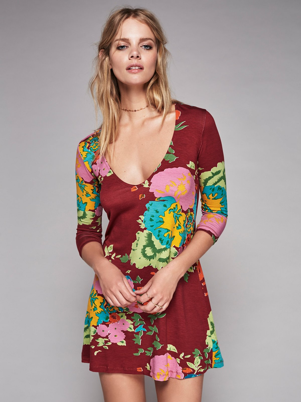 Gardener Printed Mini Dress
