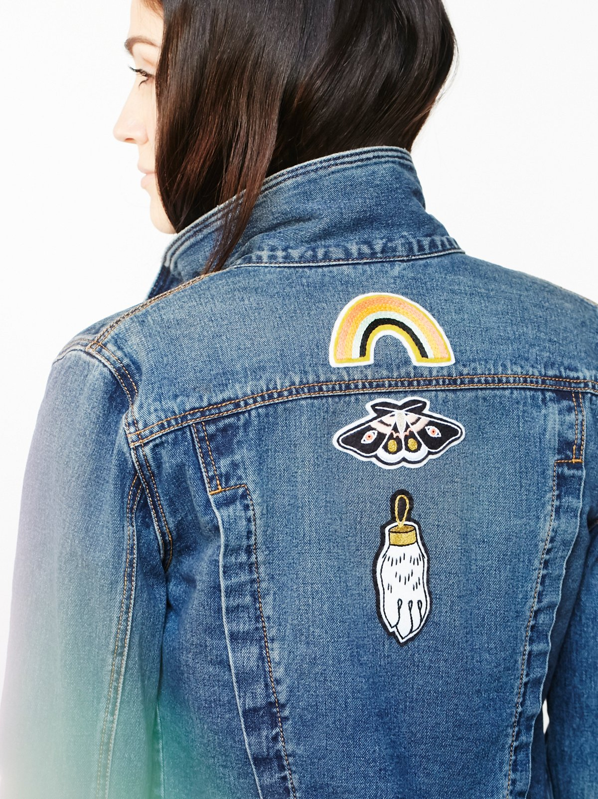 Lucky Embroidered Patch