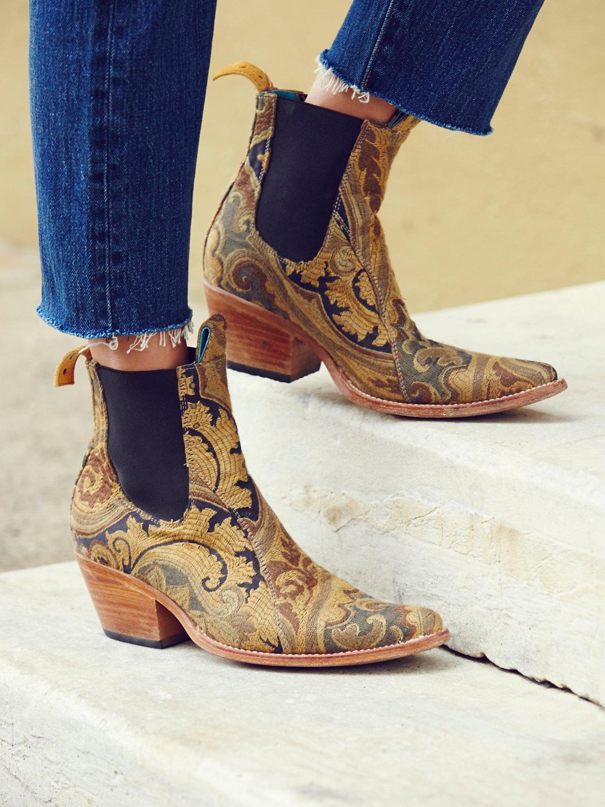 Jacquard Lenni Ankle Boot