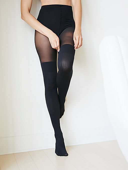 Product Image: Secret Sock Cable Tights