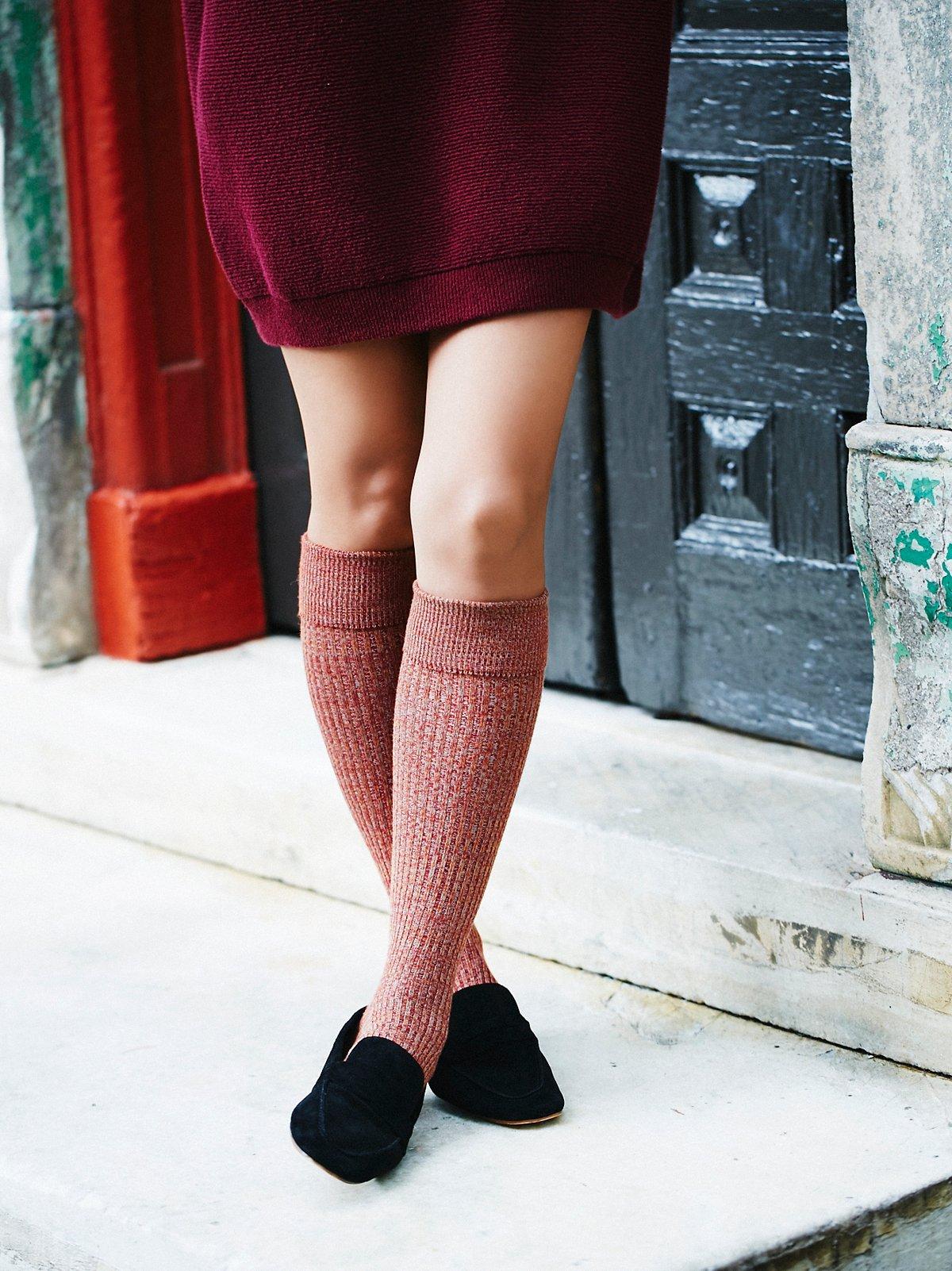 Bellevue及膝袜