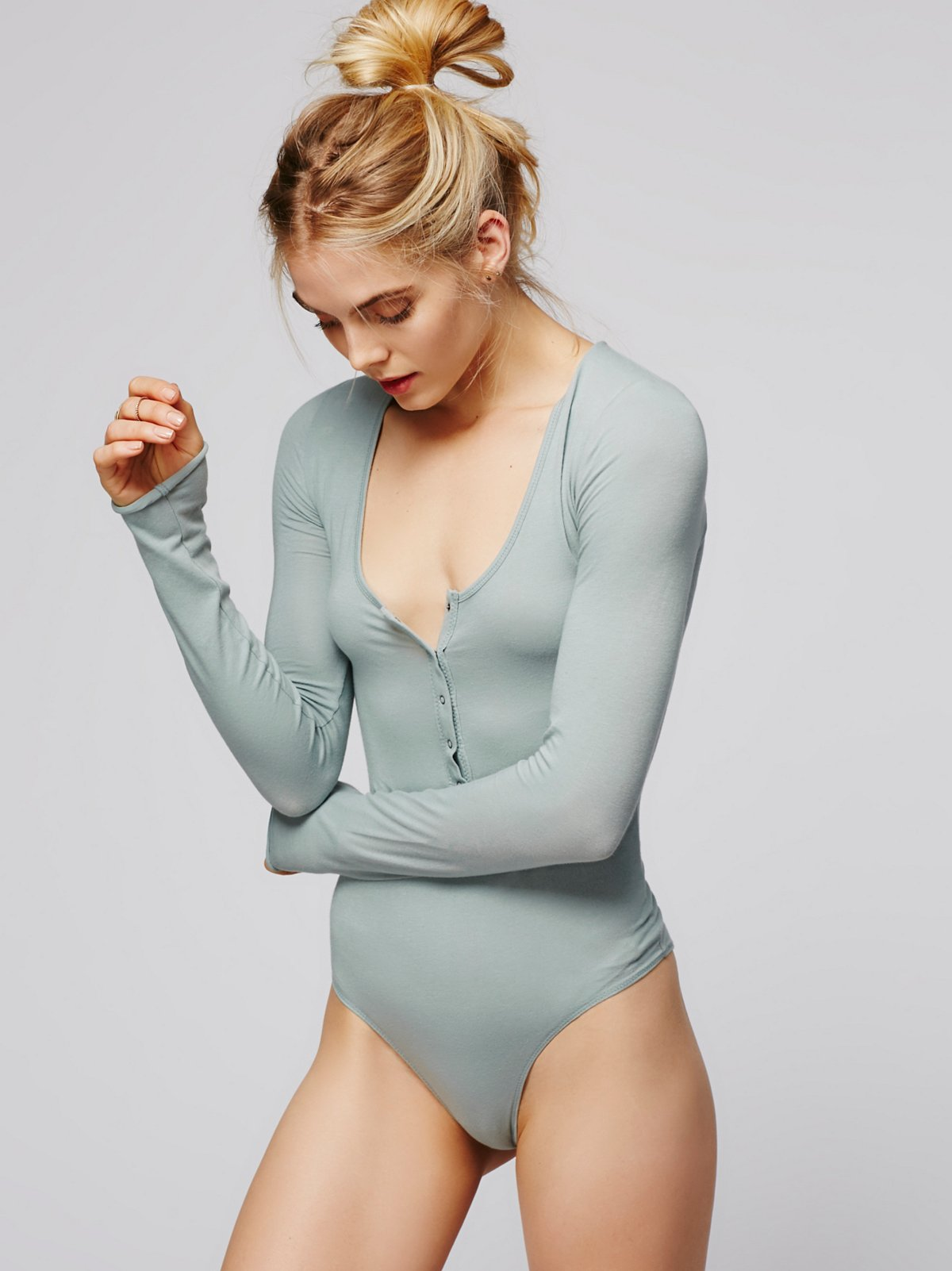 Simply Henley Bodysuit