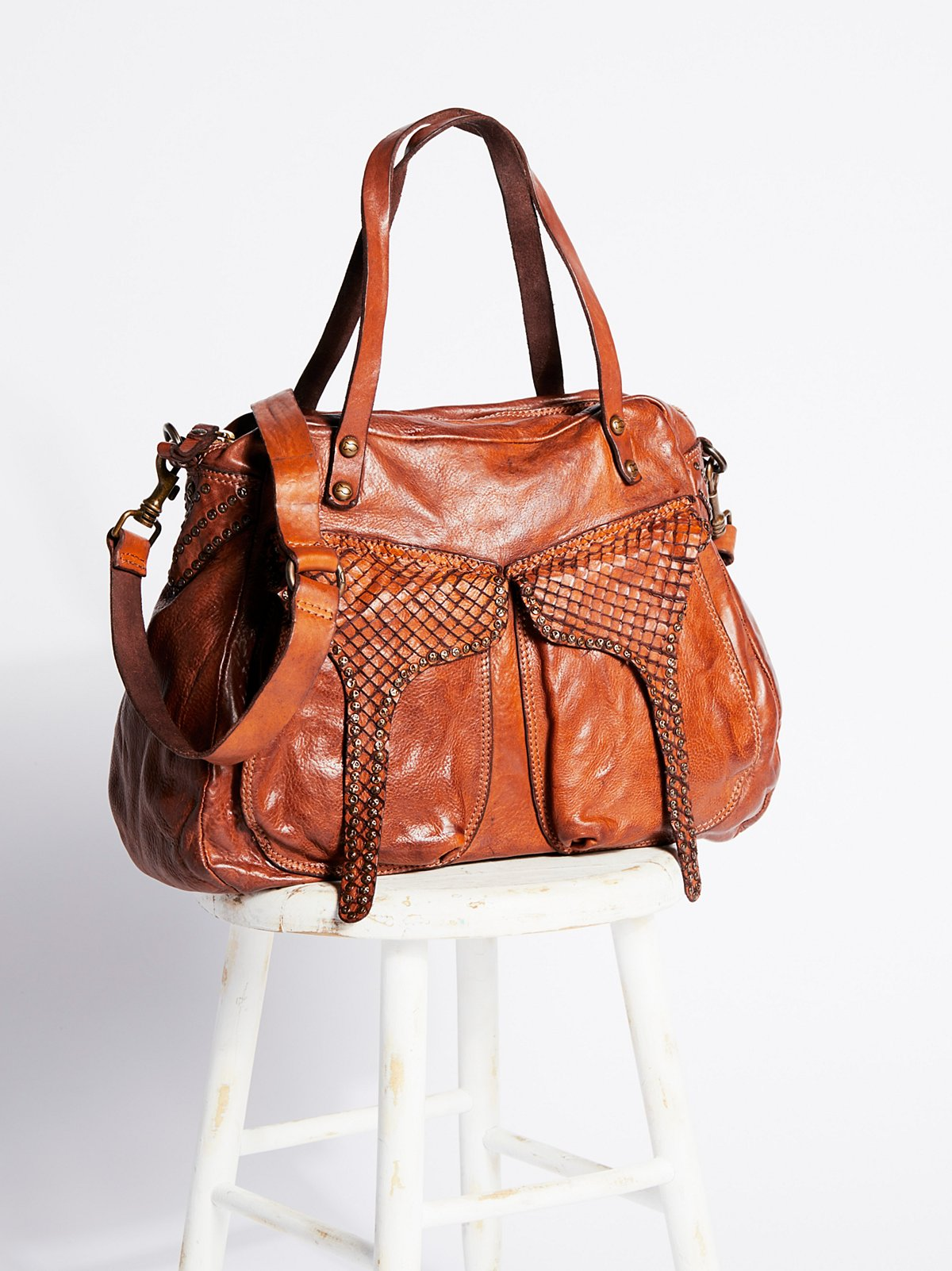 Marais Distressed Tote