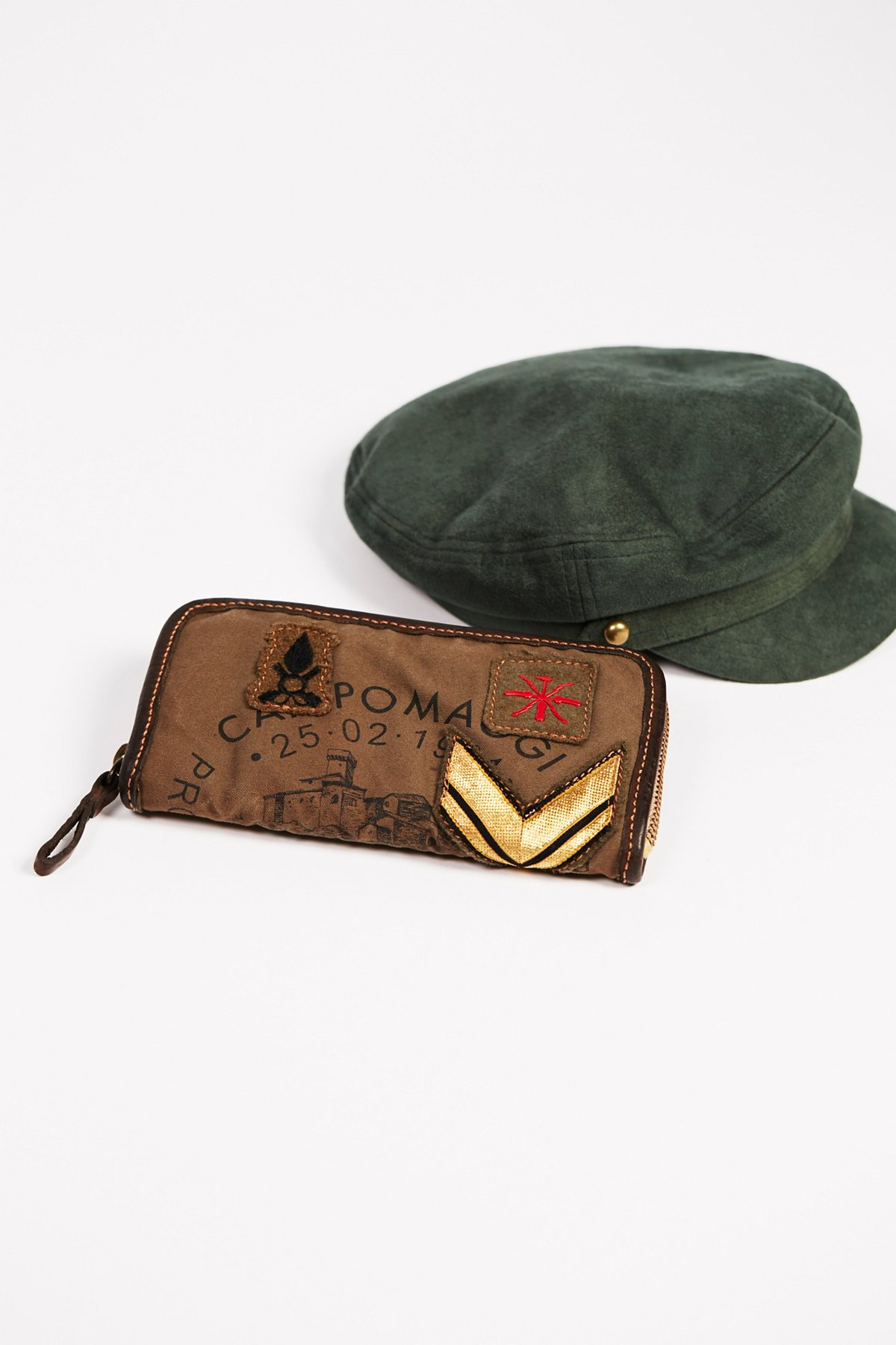 Military Patched Wallet