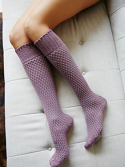 Product Image: Delancey Textured Knee Sock