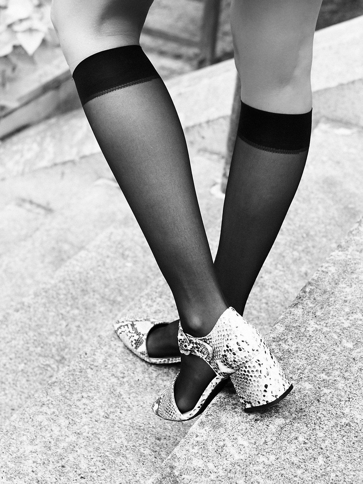 Little Rebel Sheer Knee Sock