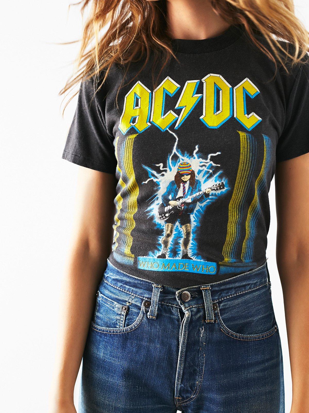 Vintage ACDC Tour Tee