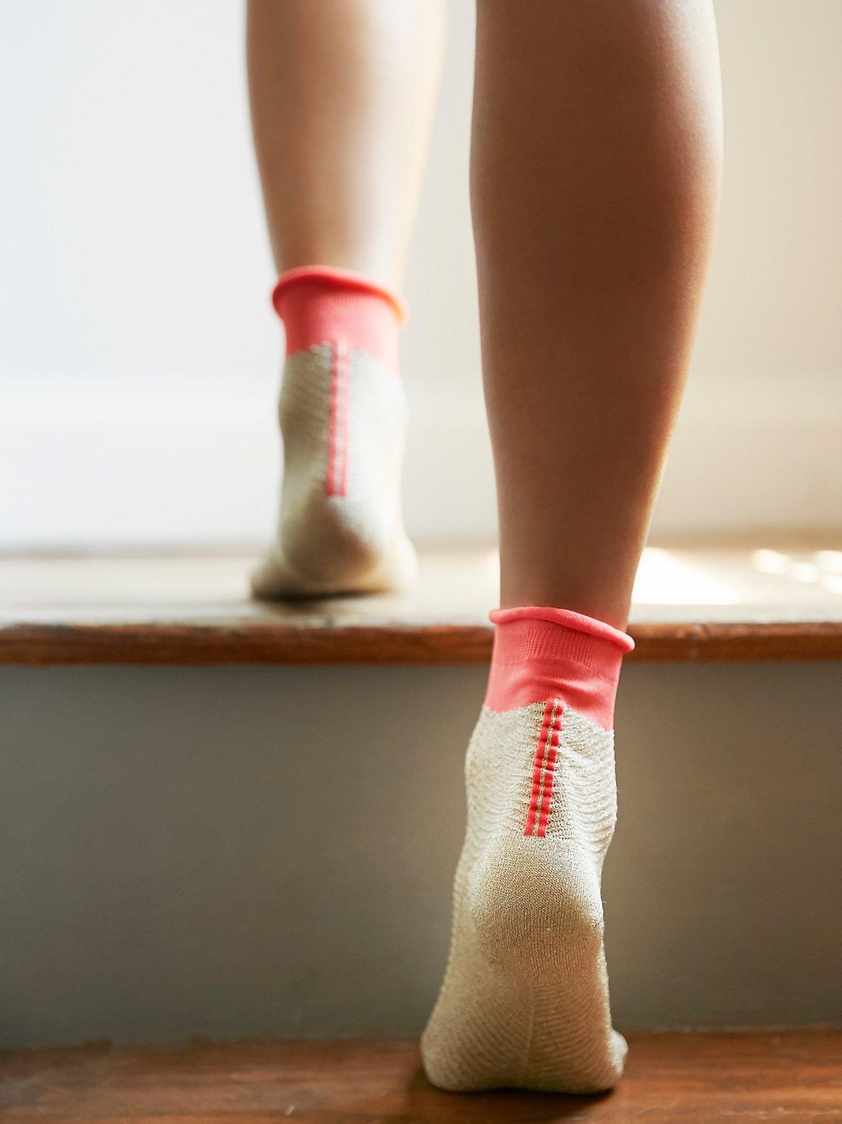 Candice Lurex Anklet