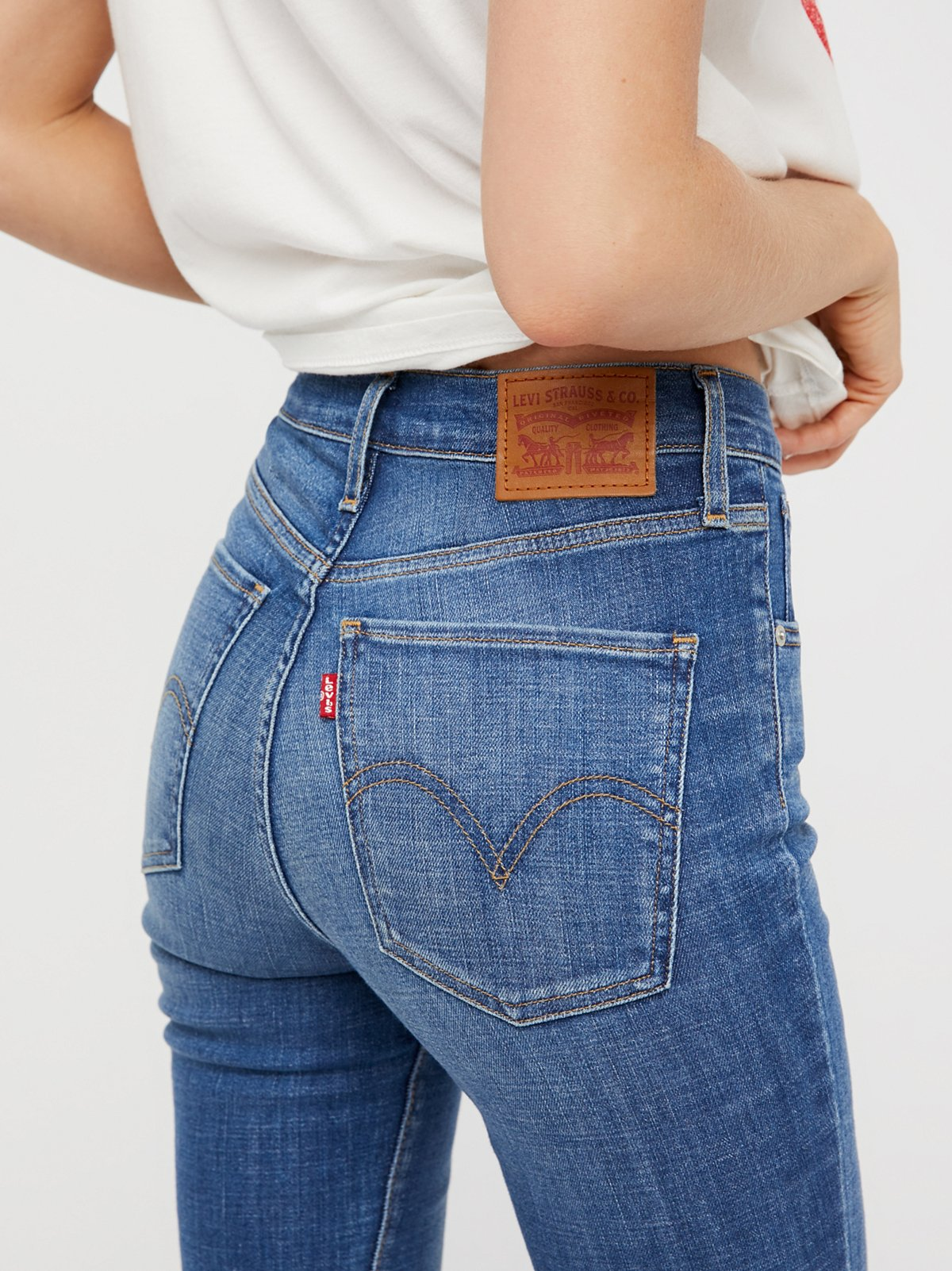 High Waisted Jeans - High Rise Jeans for Women   Free People