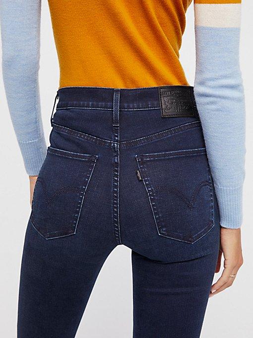 Product Image: Levi's Mile高腰超紧身裤