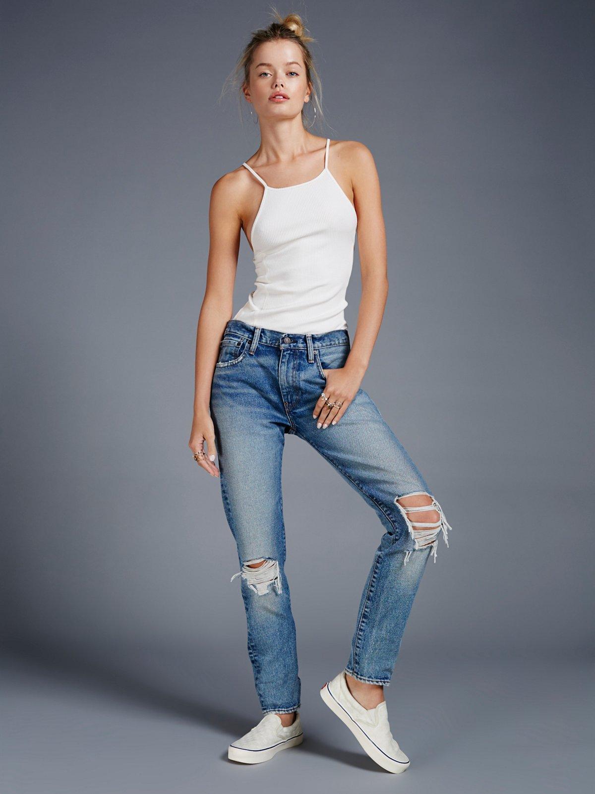 Levi's 505c牛仔裤