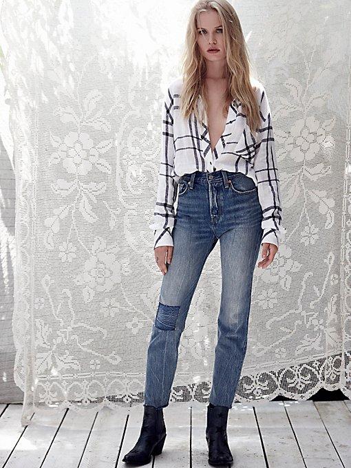 Product Image: Levi's Wedgie标志性拼贴牛仔裤