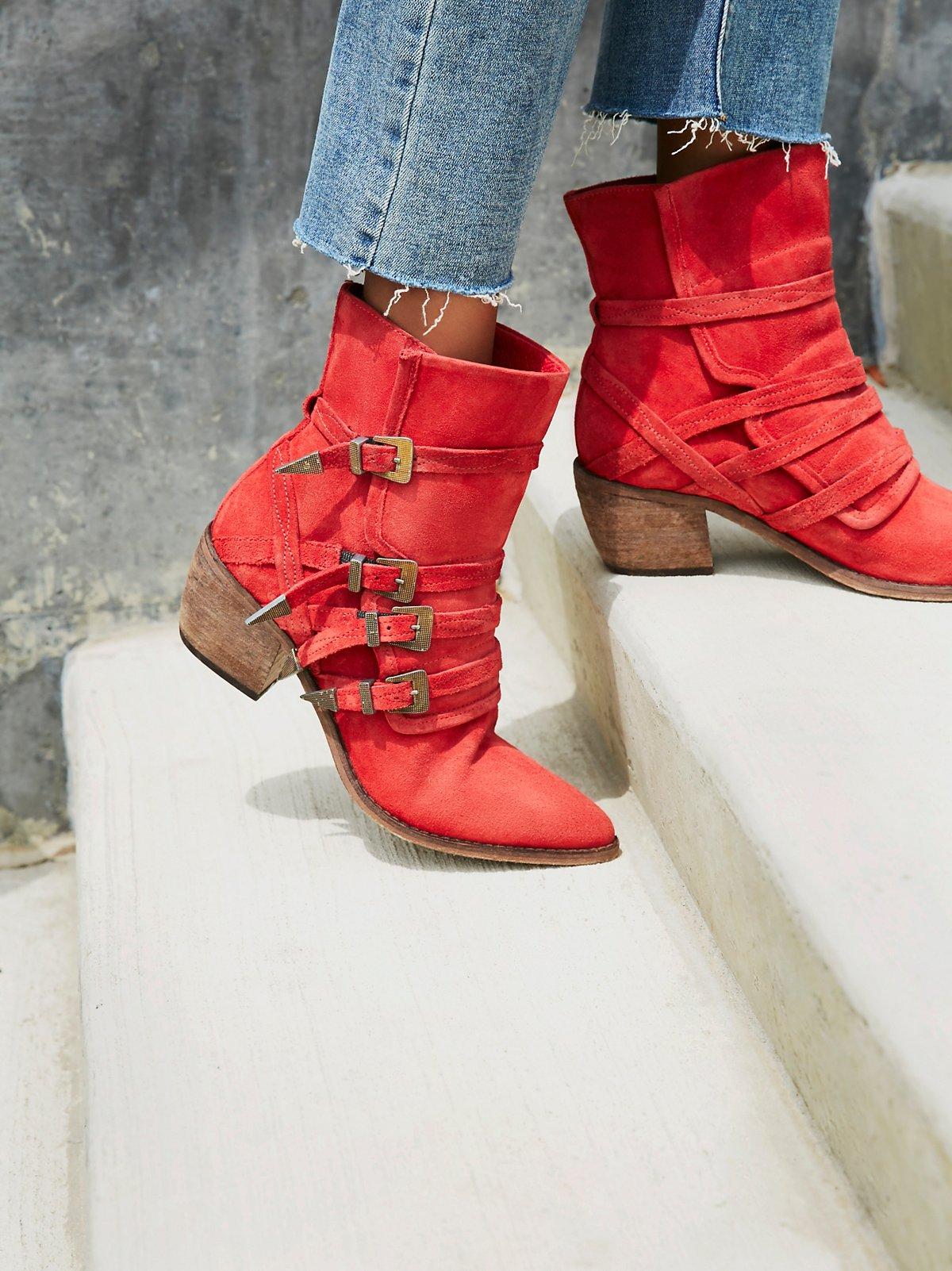 Mason西部靴