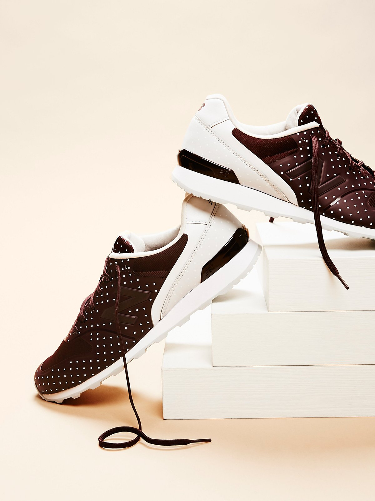 696 Re-Engineered Polka Dot Trainer