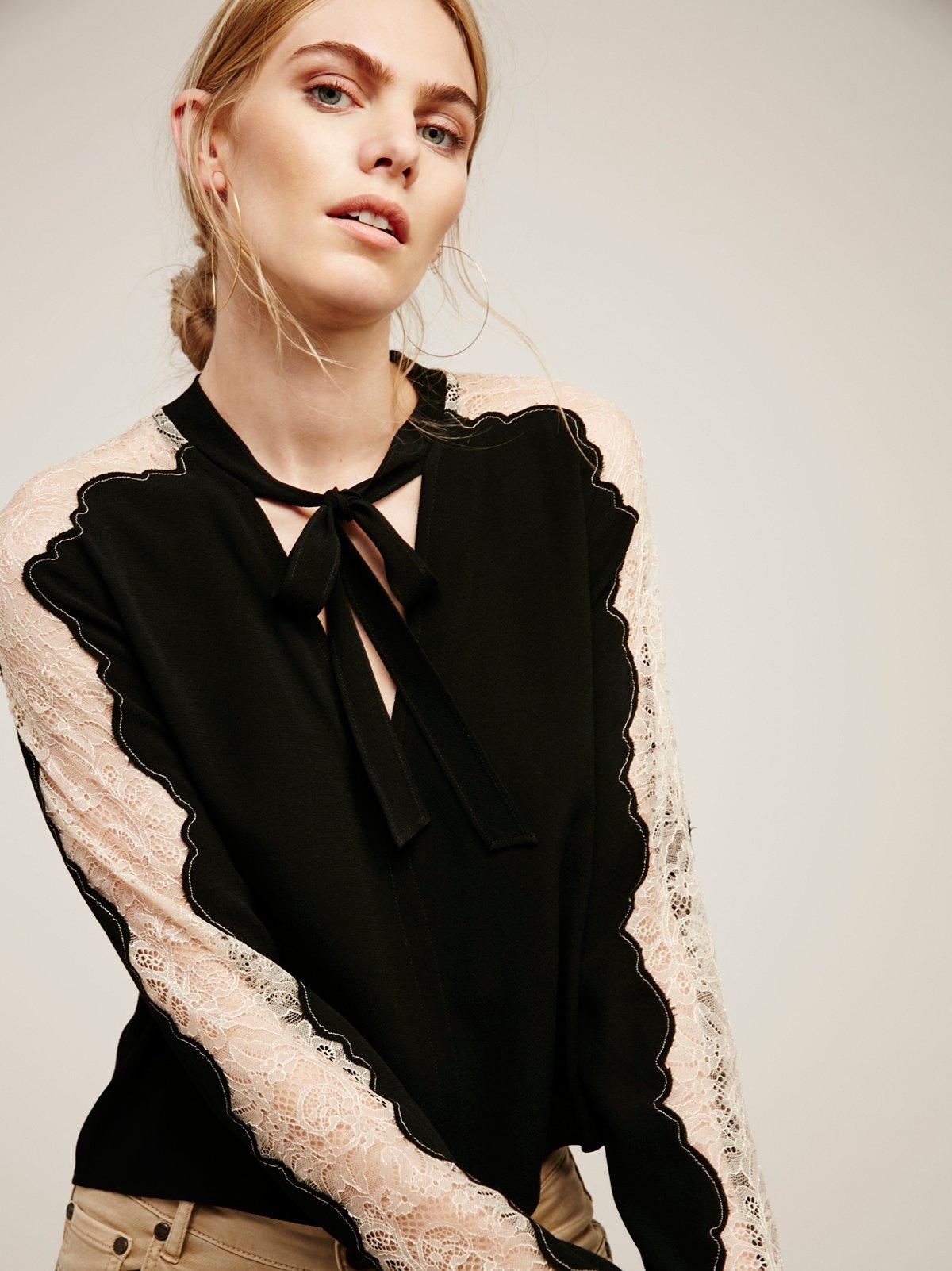 Freya Tie Front Blouse
