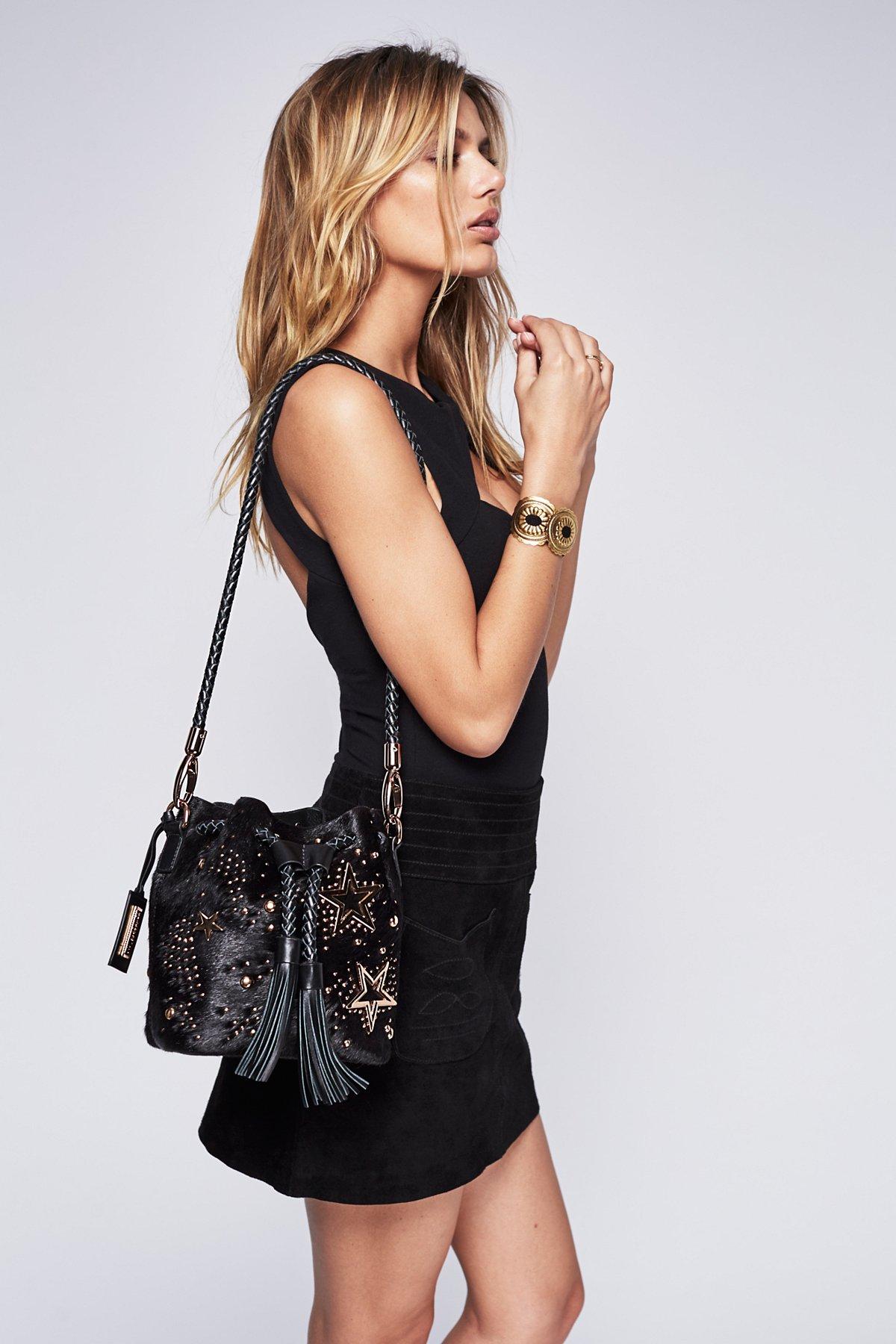 Star Spangled Bucket Bag