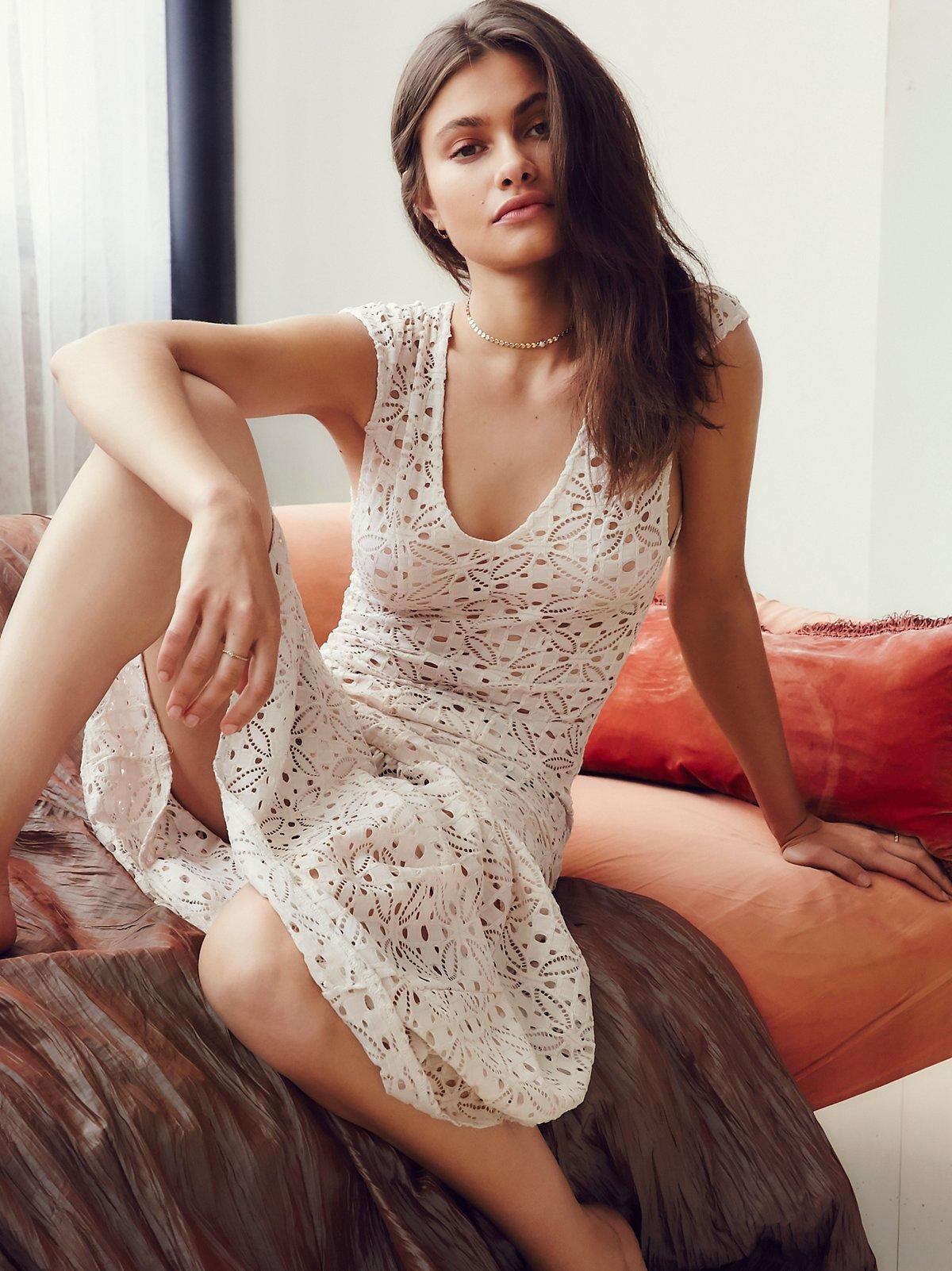 Highline蕾丝衬裙