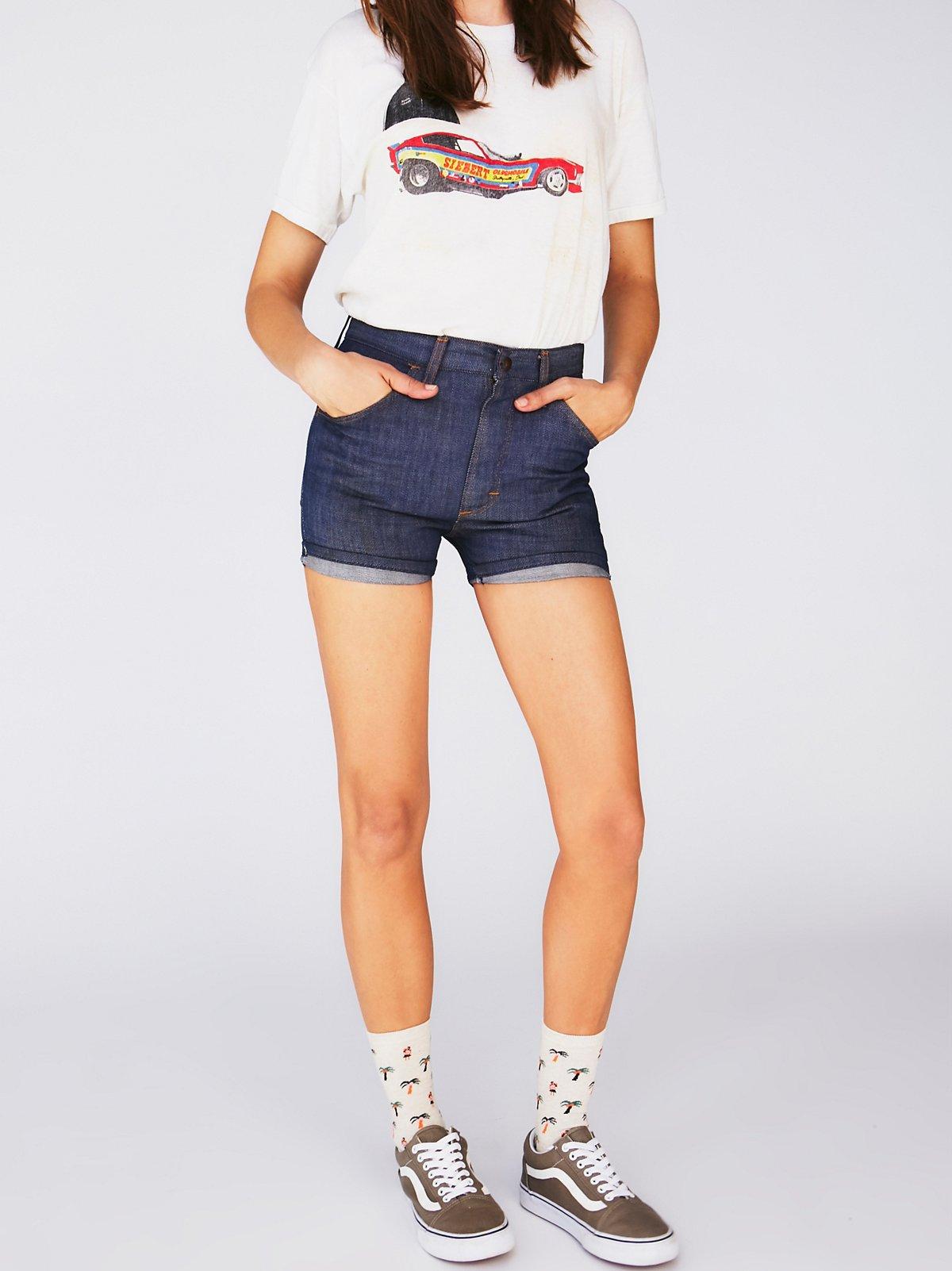Vintage1970s Denim Shorts