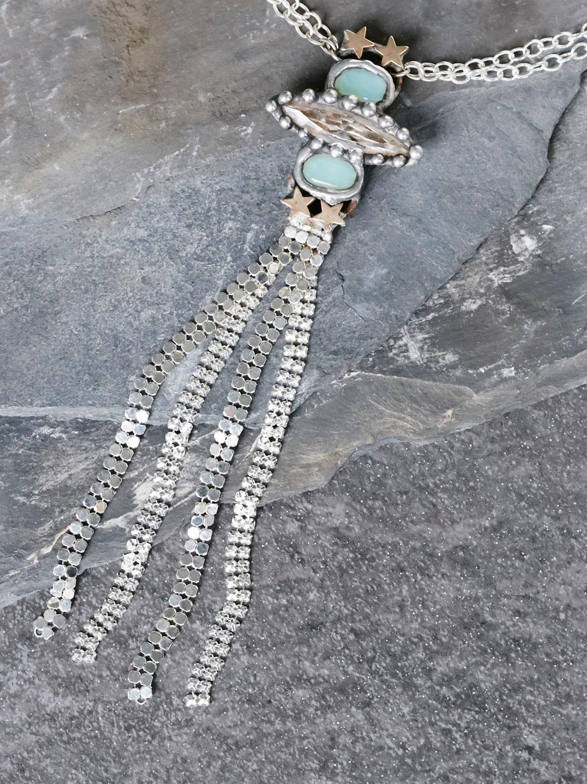 Nebula Muse Opal Necklace