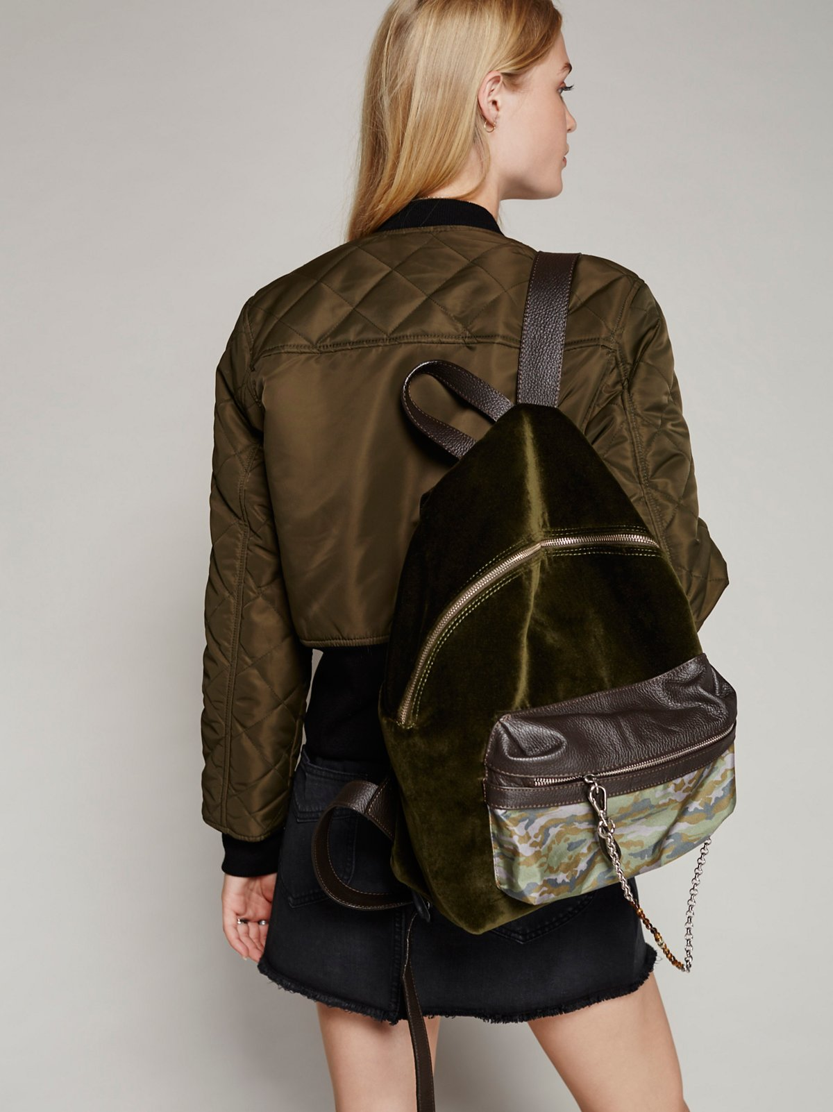 Velveteen背包