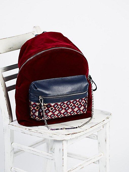 Product Image: Velveteen Backpack