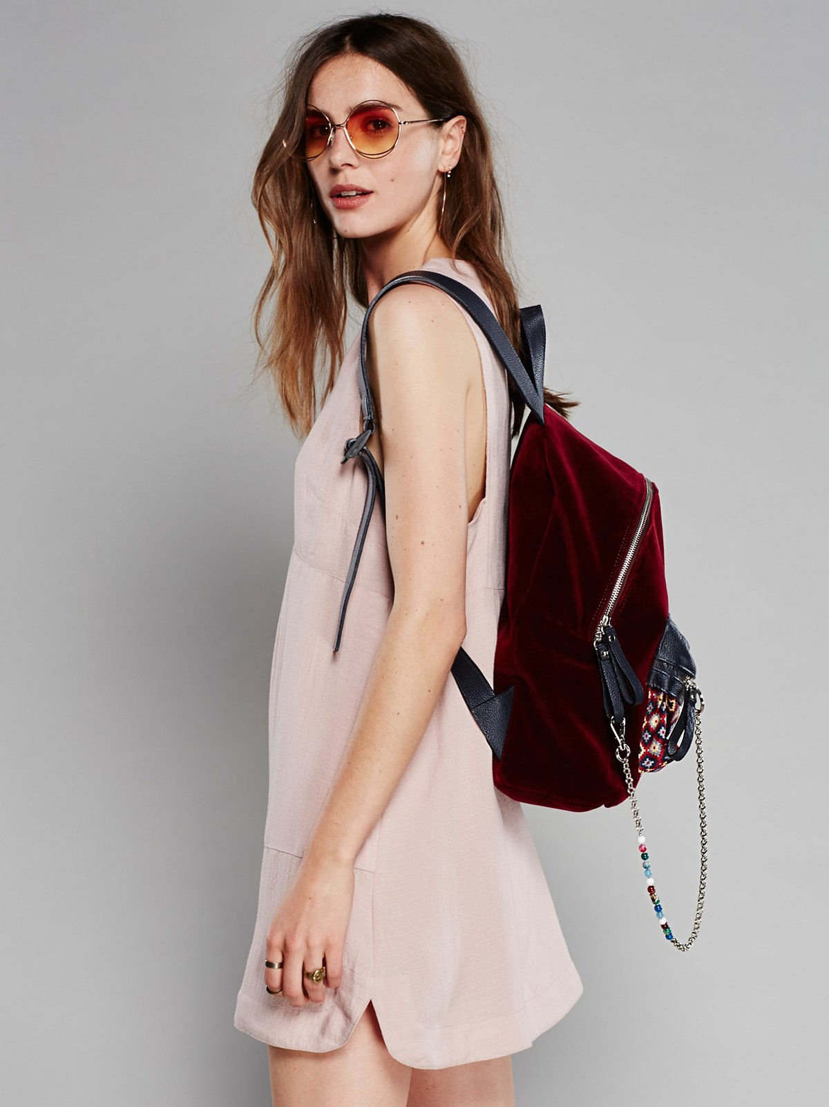 Velveteen Backpack