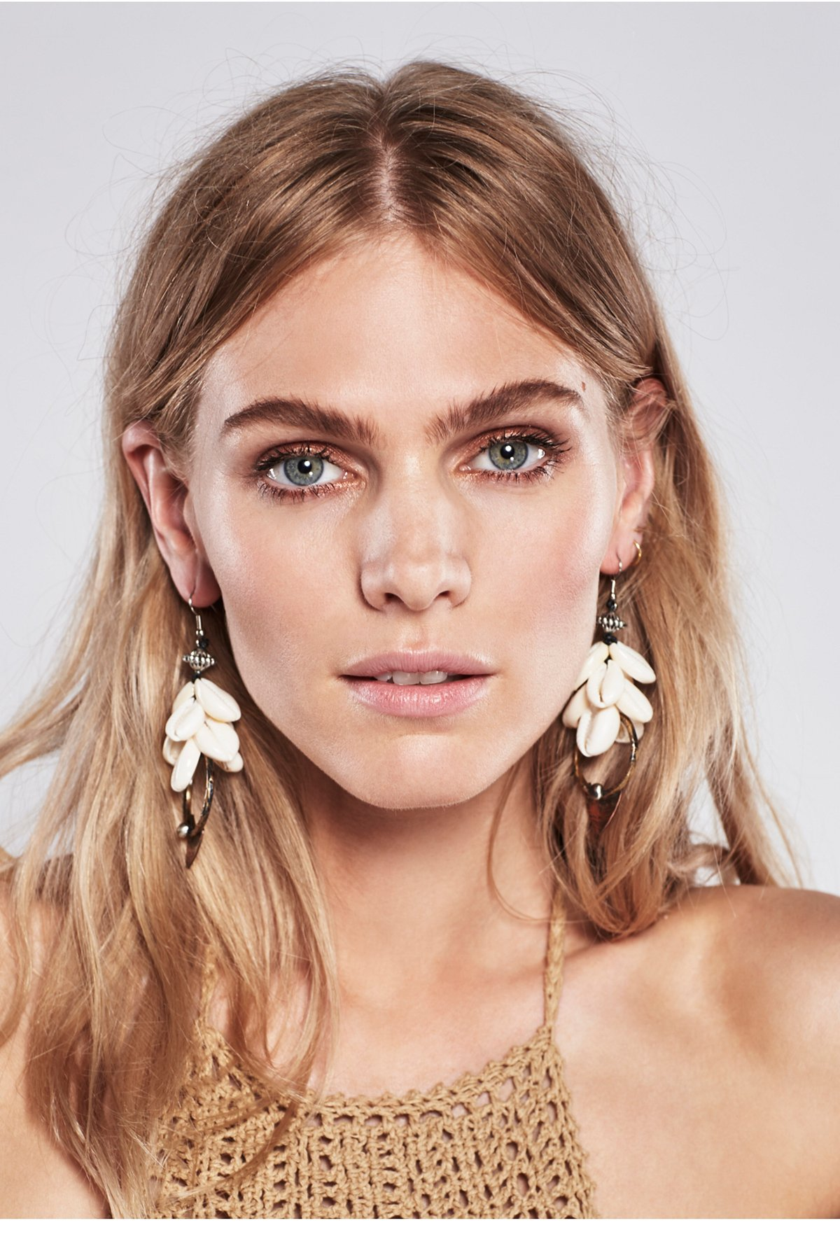 Found by the Sea Shell Earring