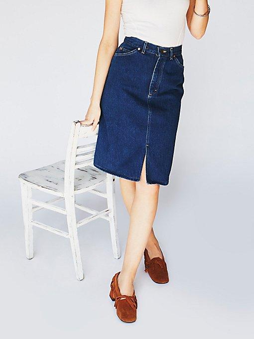 Product Image: Vintage 1970s Denim Skirt