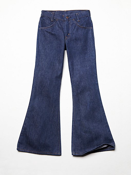Product Image: Vintage 1970s Flared Denim