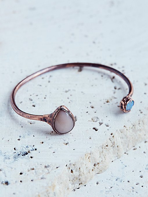 Product Image: Open Road Moonstone & Opal Cuff