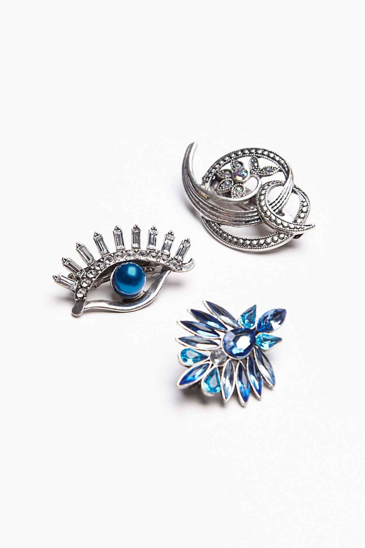 Brooch Barrette Set