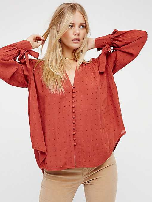 Product Image: Embellished Button Down Shirt