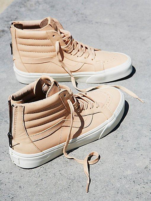 Product Image: Sk8-Hi新版拉链真皮高帮鞋