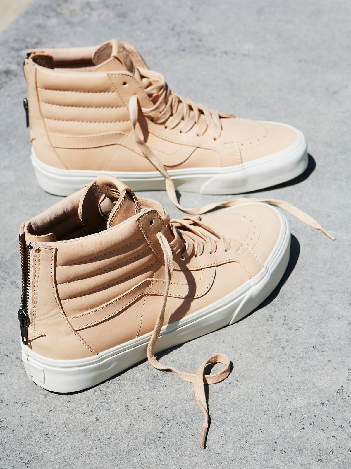 Sk8-Hi Reissue Zip Leather Hi Top