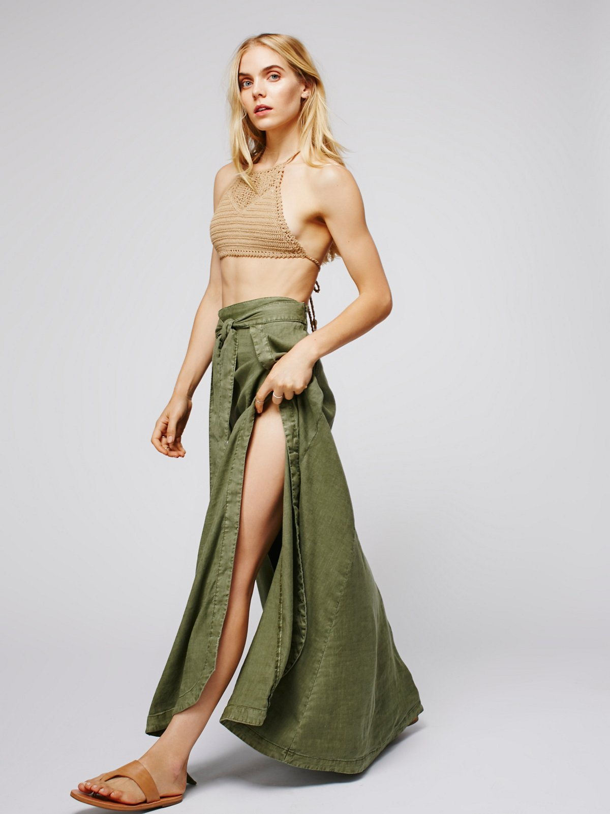 American Ride Maxi Skirt