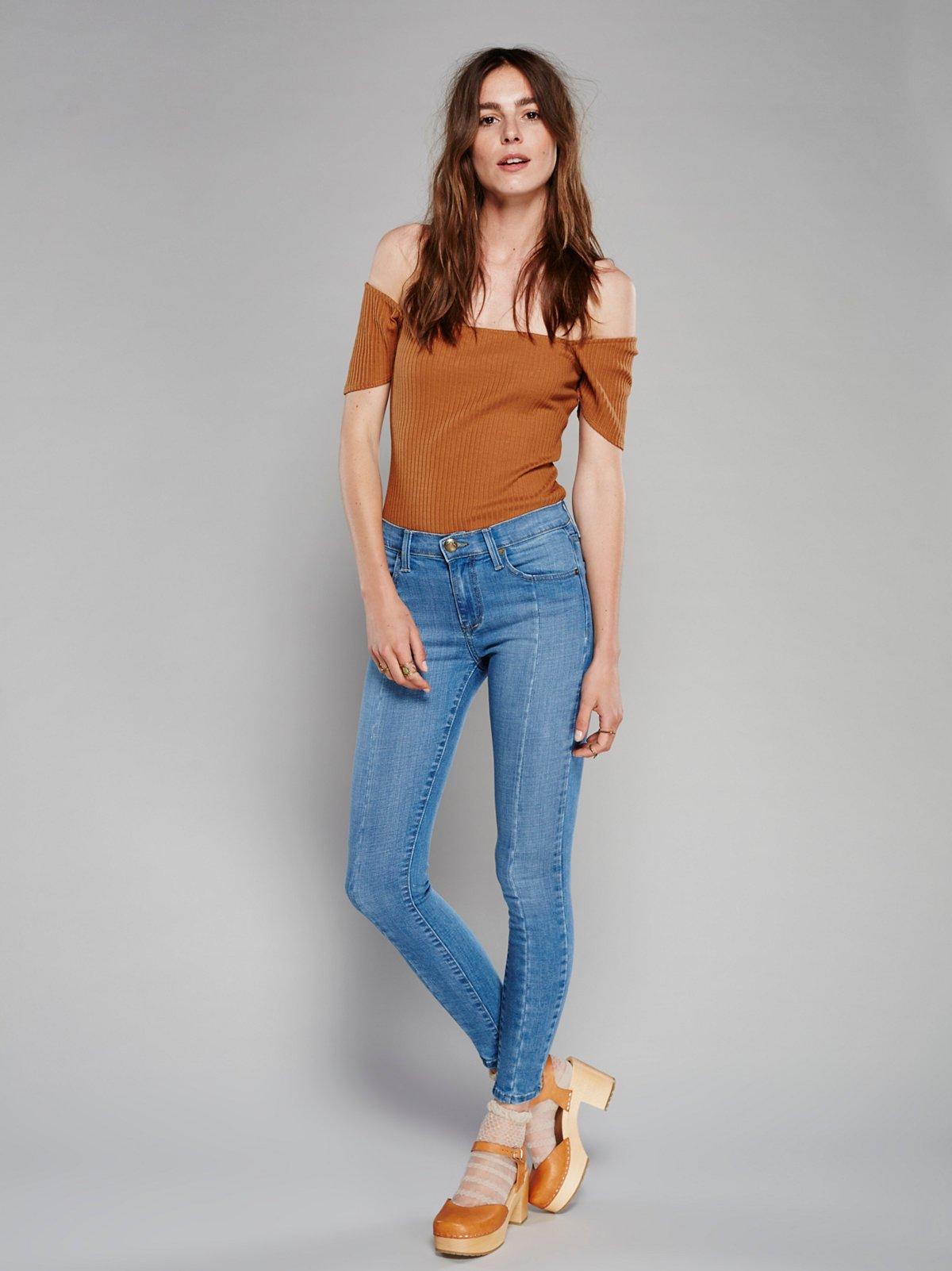 Seam Skinny Jeans