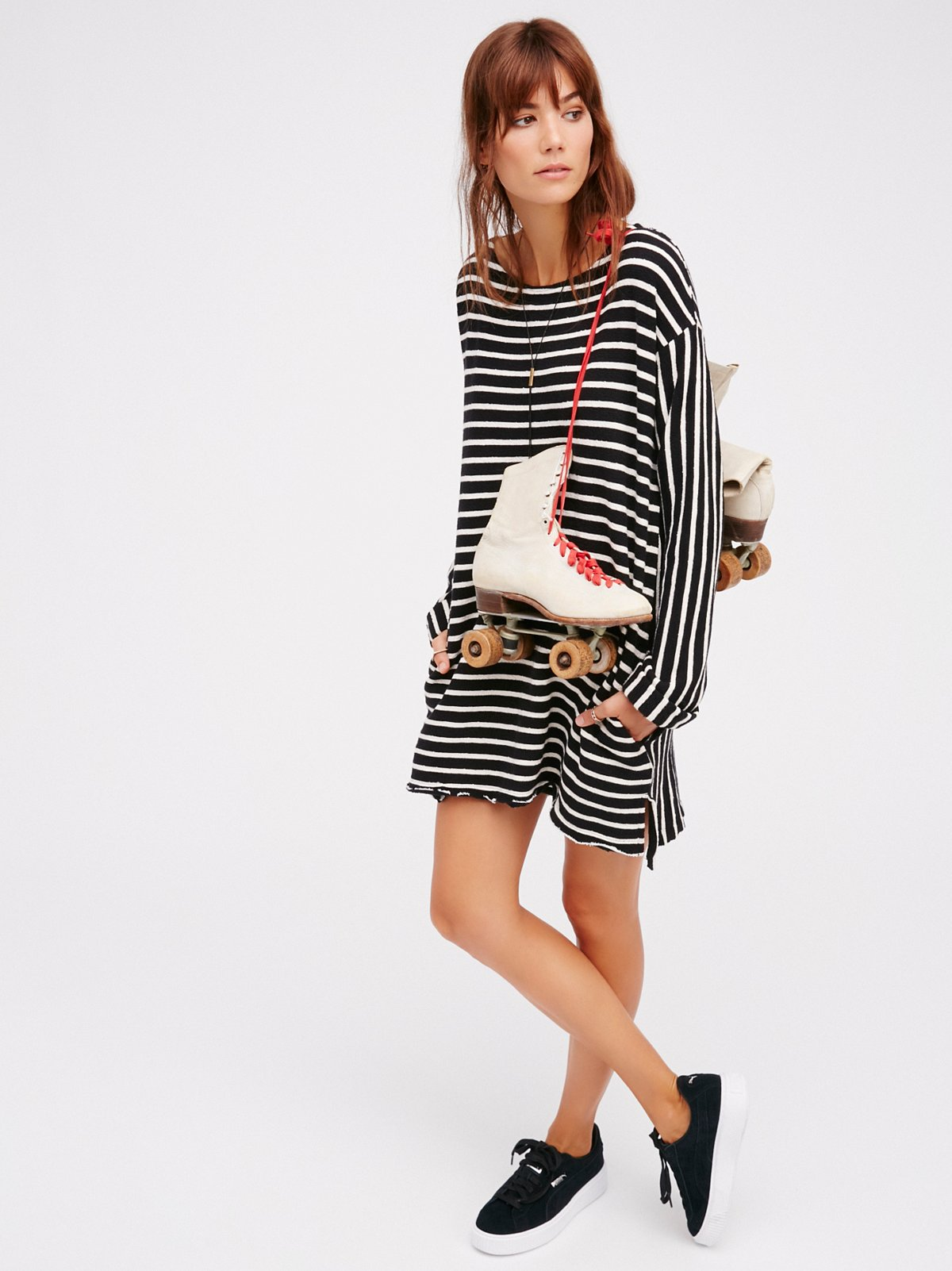 Come On Over Striped Tunic