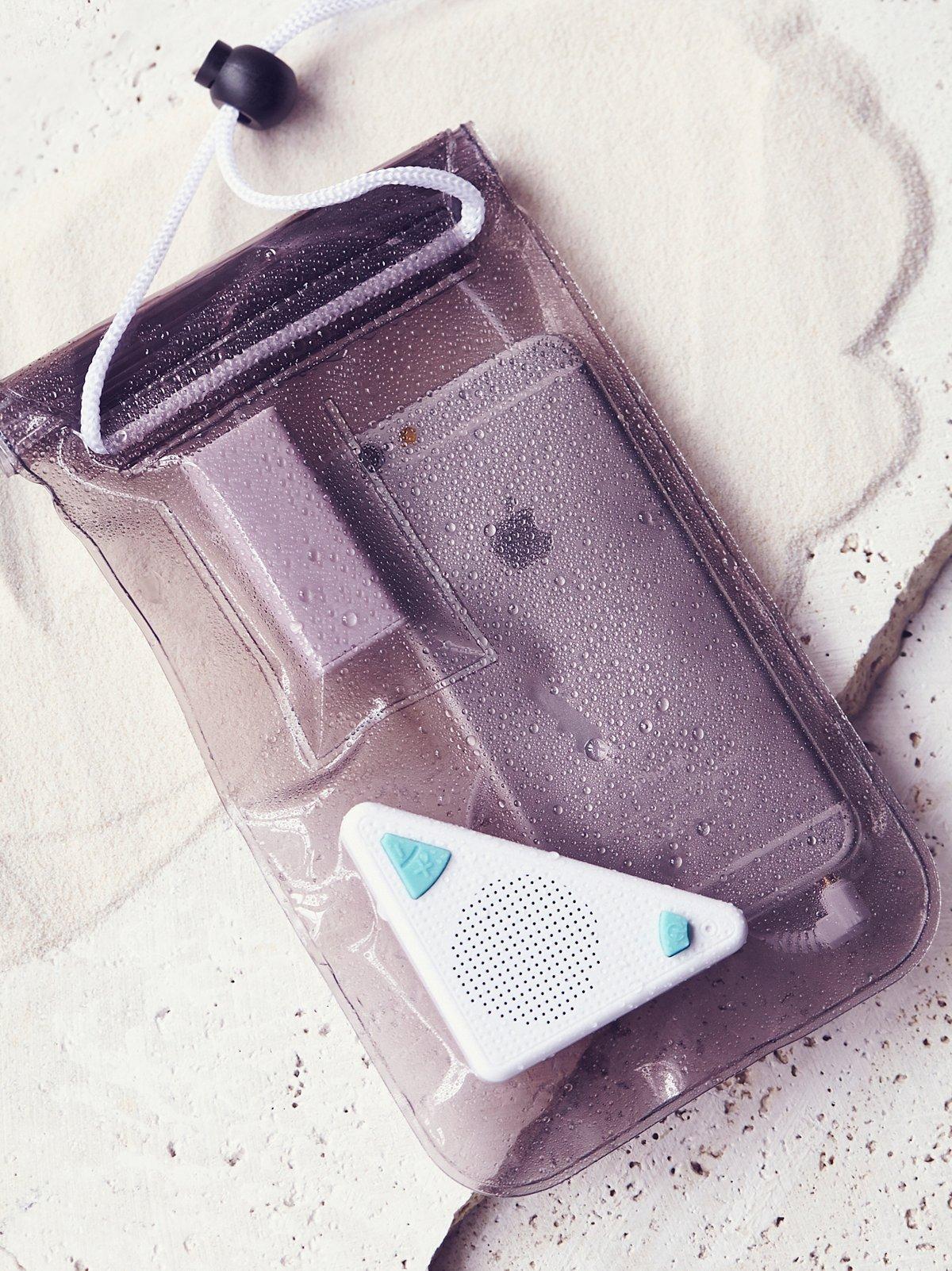 防水音箱手机套