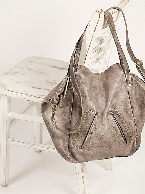 Product Image: Lucca Washed Leather Tote