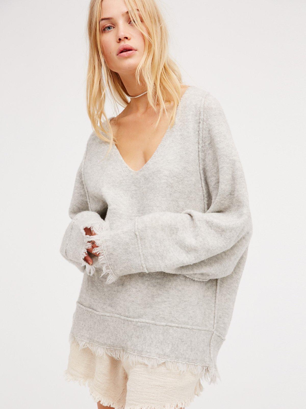 Irresistible V领毛衣