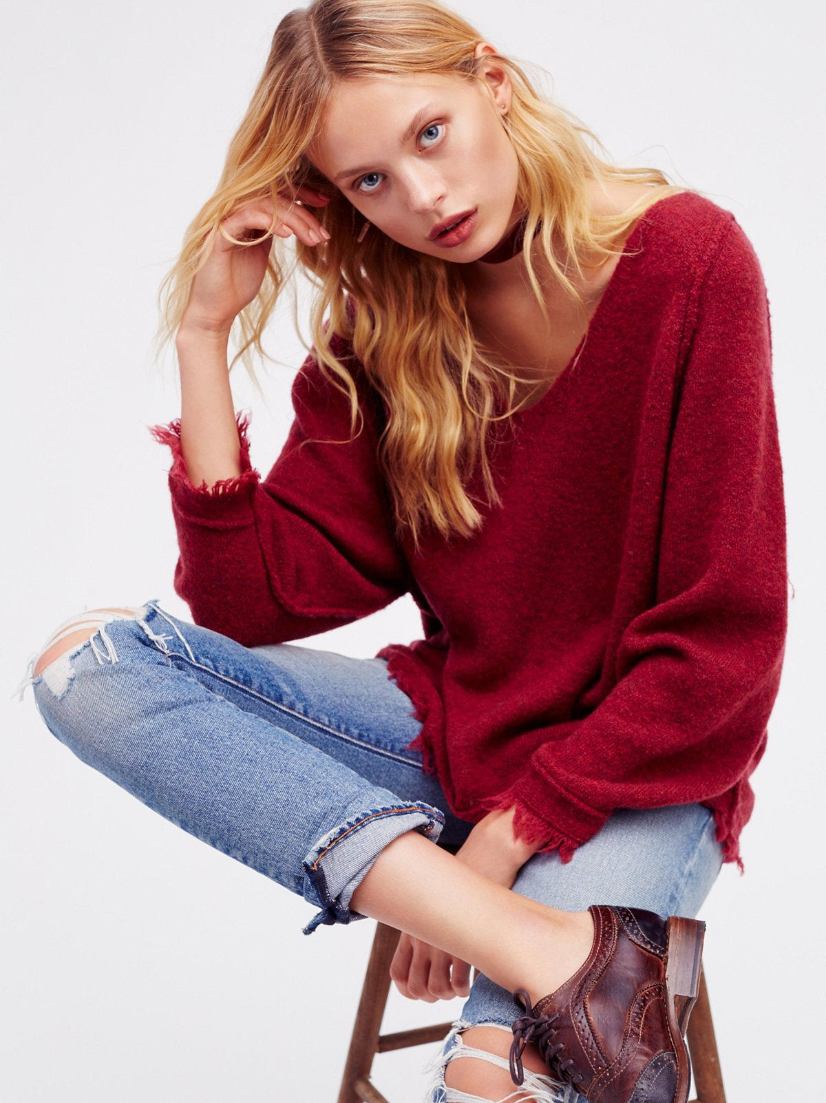 Irresistible V-Neck Sweater