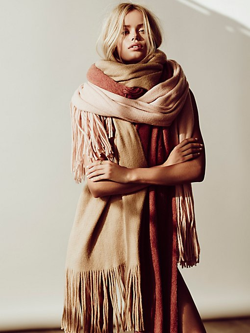 Product Image: Kolby Brushed Fringe Scarf