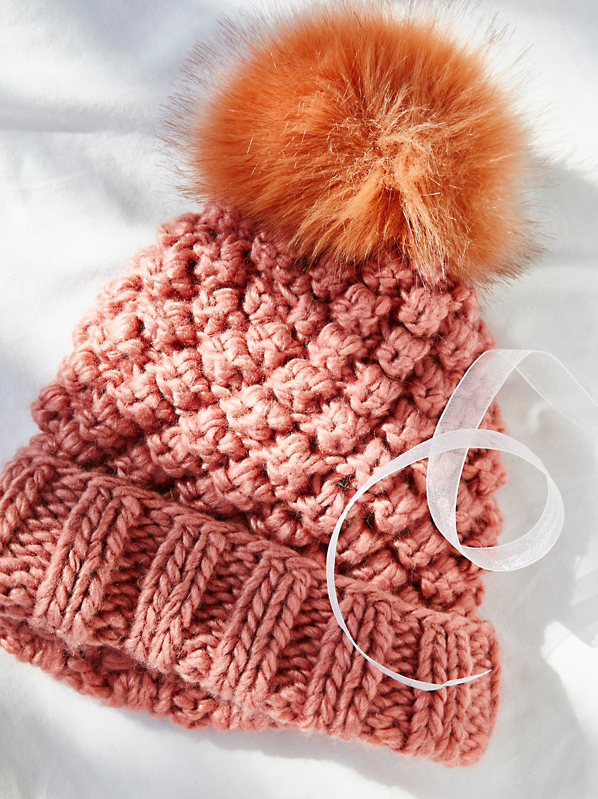 Mile High Pom Beanie