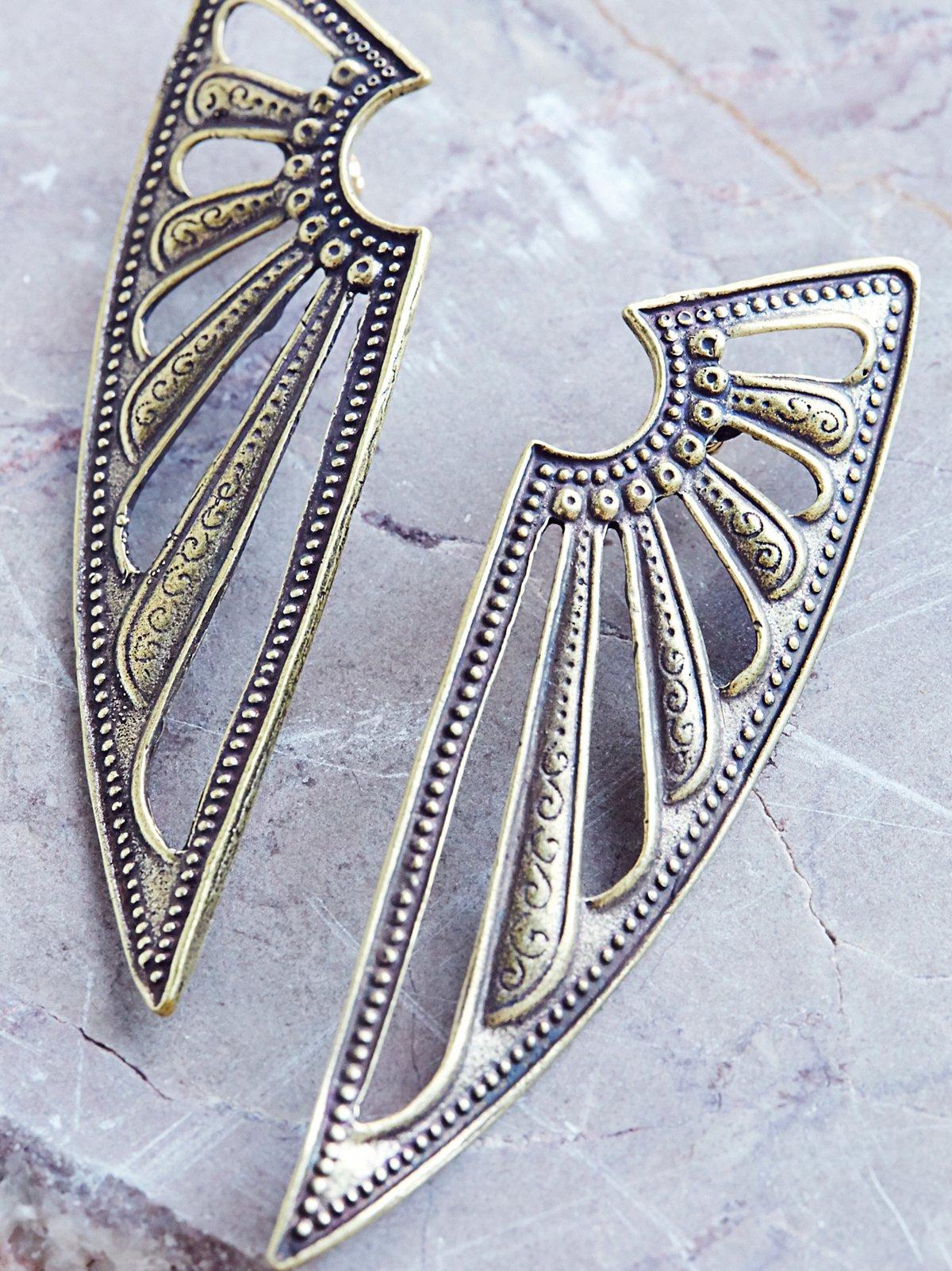 Deco Wing Earring