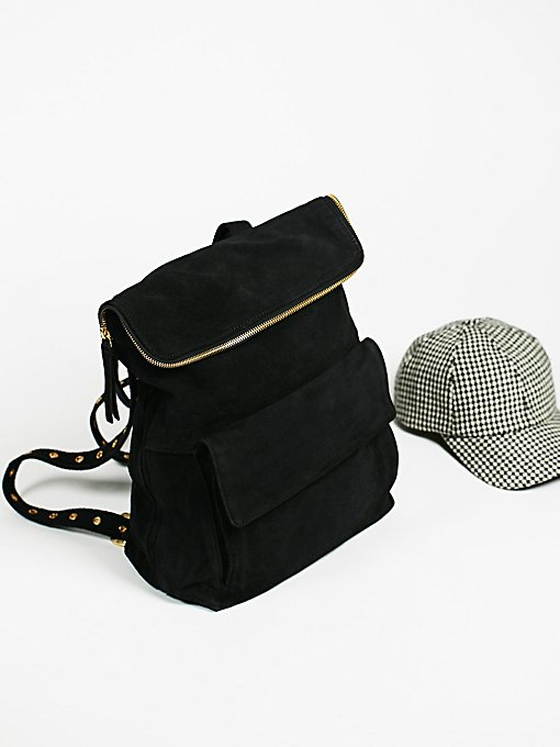 Product Image: Rockaway Suede Backpack