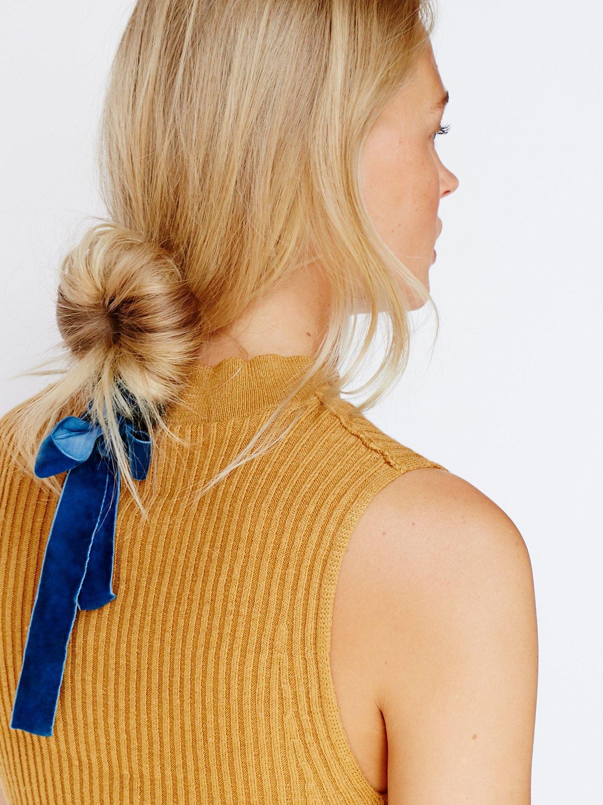 Velvet Chignon Hair Tool