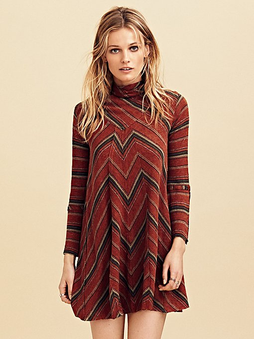 Product Image: Adobe Stripe Mini Dress