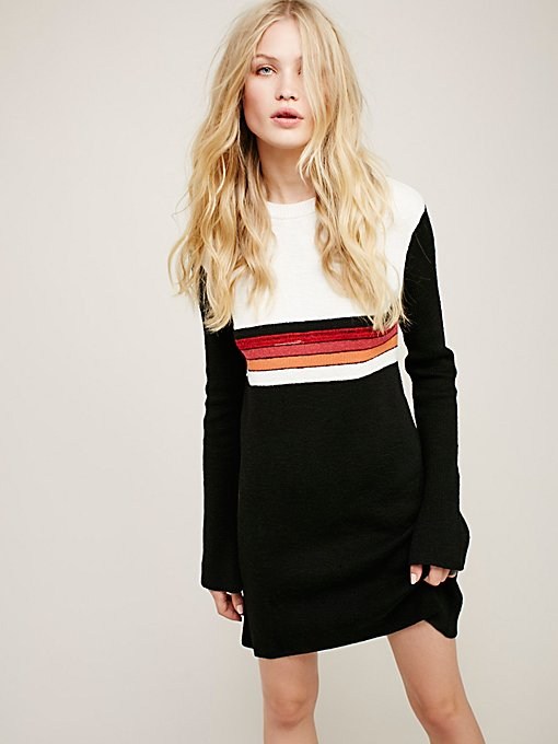 Product Image: Colorblock Swit Mini Dress