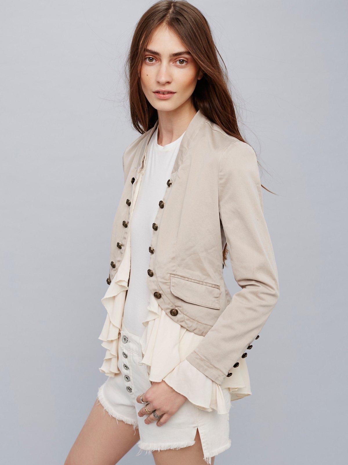 Romantic Ruffles Jacket